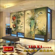 chinese feng shui shutter curtain fabric living room bedroom dining kitchen plum chrysanthemum curtain customized cut in nuts from home improvement on chinese feng shui dining