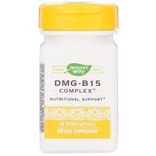 Τρόποτης φύσης Nature's Way, <b>DMG</b>-<b>B15 Complex</b>, <b>60 Vegan</b> ...