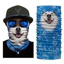 BJMOTO 2019 Seamless <b>3D Animal</b> Balaclava Tube Neck <b>Face</b> ...