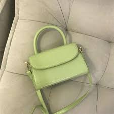 Retro <b>Mini</b> Alligator Crocodile <b>Bag</b> for Women Top handle Handbag ...