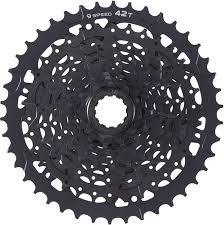 Microshift ADVENT 9-Speed Cassette w/<b>Alloy Large</b> Cog - All ...