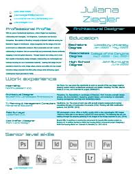 juliana resume architectural designer juliana ziegler juliana resume architectural designer 2014
