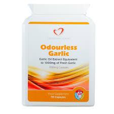 <b>Garlic Capsules</b> 1000mg - <b>90 Capsules</b> - www.silvertownhealth.co.uk