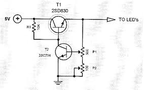 and mosfet wiring diagram led 5v led dimmer circuit led dimmer schematic