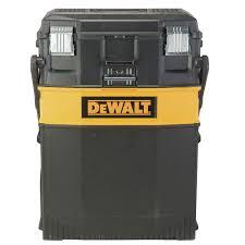 <b>3</b>-<b>pc</b> DEWALT Large Rolling Wheel Portable Toolbox Chart <b>Chest</b> ...
