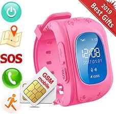 Hangang Children <b>Smart Watch</b> Kids <b>GPS</b> Tracker <b>Anti</b>-<b>Lost</b> SOS ...