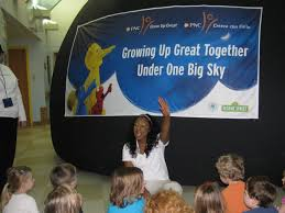 pathfinder kids kampus and pnc bank partner for planetarium tour volunteers from pnc bank joined children of pathfinder kids kampus for the one world one sky show on wednesday 9th the show brought an inflatable