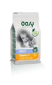 <b>Cat</b> products line Adult chicken - <b>Dry</b> food <b>Oasy</b>