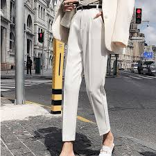 <b>OL Style</b> Fashion Women Pants Casual Pencil High Waist Elegant ...