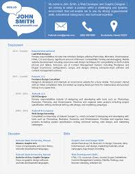 simple modern resume sample for job hunter shopgrat resume sample new contemporary resume sample templat contemporary resume