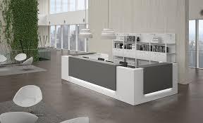 19392 modern reception unit furniture modern office reception desk