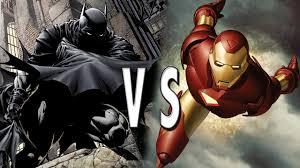 batman vs iron man epic battle youtube batman iron man fanboy