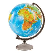 <b>Глобус Глобусный Мир физико-политический</b> 32 см с подсветкой ...