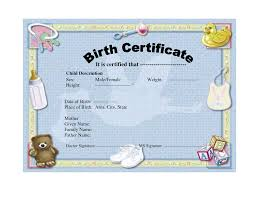 birth certificate not official template helloalive birth certificate not official template cute blue colored birth certificate template design idea