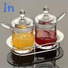 China Convenient Kitchen Supplies <b>Acrylic</b> Clear <b>Glass Spice</b> Jam ...