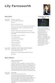 camp counselor resume samples   visualcv resume samples databaseday camp counselor resume samples
