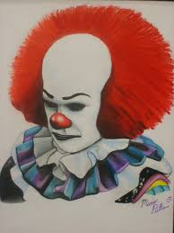 pennywisethedancingclown pennywise by marioink