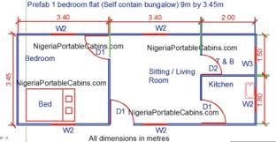 Prefab House Plans Nigeria   Free Prefab And Steel Building Plans    Sample Prefab Metal Building Plans