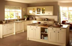 kitchen paint colors with cream cabinets: entrancing cream colored kitchen cabinets photos painted cabinet full size