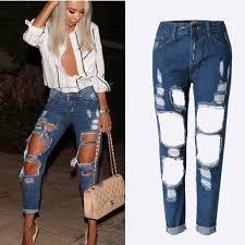 Resultado de imagen para jeans muy rasgados