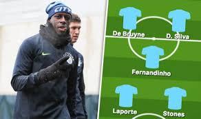 Man City team news vs Arsenal: Predicted line up – Mendy injury ...