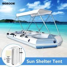Inflatables <b>Boat Sun Shelter</b> Sailboat Awning Top Rowing <b>Boats</b> ...
