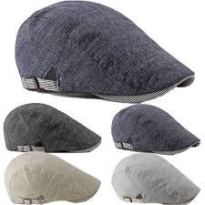 Classic Hat <b>Summer Men</b> Beret <b>Breathable mesh</b> Gatsby Newsboy ...
