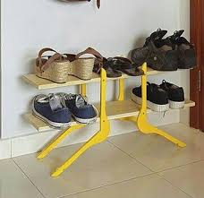 <b>Полка для обуви</b> из вешалок плечиков (<b>мастер</b>-класс) / Мебель ...