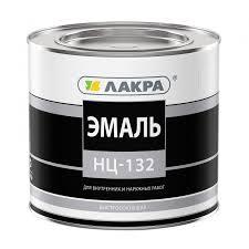 <b>Эмаль Лакра НЦ</b>-<b>132</b>, белая, 1,7 кг - купите по низкой цене в ...