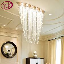 Youlaike <b>Modern Chandelier Lighting</b> Oval Design Dining Living ...