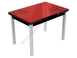 <b>Обеденный стол</b> со стеклом <b>Стол Шанхай</b>-Квадро купить в ...