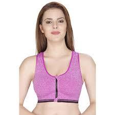 GRAPPLE DEALS <b>Women Yoga Bra</b> Front Zipper Push Up Sports ...