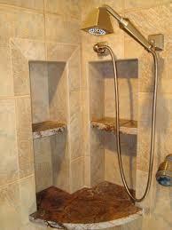 small bathroom shower door tile