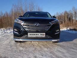 <b>Защита передняя овальная</b> TCC HYUNTUC15 24 для Hyundai ...