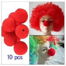 10 шт. очаровательные красные шары губка <b>нос</b> клоуна ...
