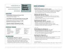 resume sean henry banks portfolio