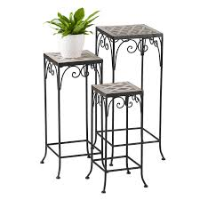 Sale !!!Bombay Cantabria <b>3</b>-piece <b>Plant Stand Set</b> - lush-decor ...