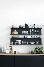 euro week full kitchen: last week i promised to show you another black kitchen with a wooden countertop which i really love so here goes hope you like it
