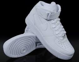 nike air force 1 high top white on feet air force 1 nike