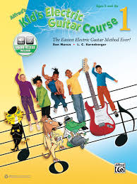 Alfred's <b>Kid's Electric Guitar</b> Course 1: Guitar Book & Online Audio