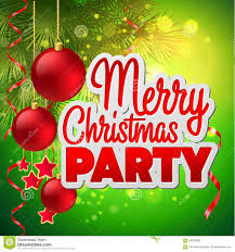 christmas party flyer vector template stock vector image  christmas party flyer vector template
