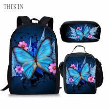<b>THIKIN</b> Children School Backpack Dino Fashion <b>3 PCS</b>/<b>SET</b> ...