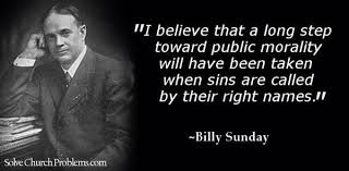 I tell you that the curse of God Almighty is on th by Billy Sunday ...