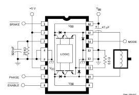dc motor control wiring diagram dc image wiring a3952s dc servo motor controller circuit diagram electronic on dc motor control wiring diagram