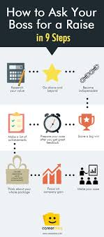 77 best ideas about work goals professional goals how to ask your boss for a raise in 9 steps infographic