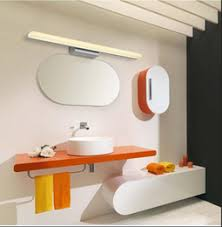 led mirror light modern minimalist white 40cm 60cm 80cm 100cm 120cm mirror front of light bathroom hallaway wall sconce comb mounted lamp affordable wall affordable bathroom lighting