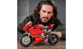 Buy <b>LEGO Technic Ducati Panigale</b> V4 R Motorbike Model Set 42107