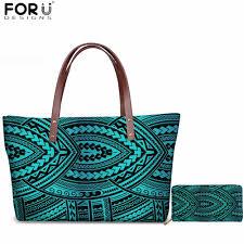 <b>FORUDESIGNS</b> Africa Symbols Handbag <b>Cartoon Fashion</b> African ...