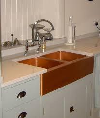 copper sink kscvcv farmhouse curvo