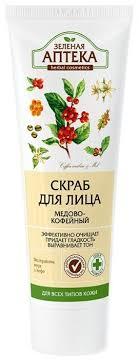 Зелёная Аптека <b>скраб</b> для лица Медово-<b>кофейный</b> купить по ...